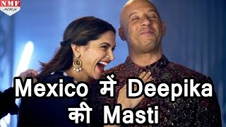 xXx   के promotion के दौरान Mexico में दिखी Vin Diesel और Deepika Padukone की Masti