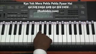 Suraj Hua Maddham (Piano Tutorials) - Kabhi Khushi Kabhie Gham