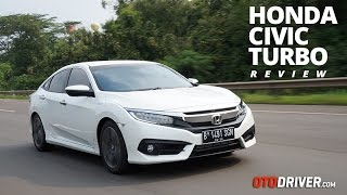 Honda Civic Turbo 2016 Review Indonesia | OtoDriver