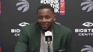 Miles impressed with the energy Raptors fans bring every night