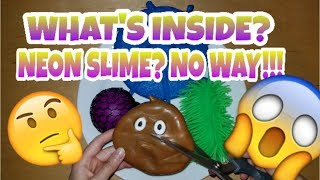 WHAT'S INSIDE MY SQUISHY SQUEEZE TOYS? SUPER SATISFYING TO CUT AND SO MANY COOL SURPRISES!!! 😀😨 #2