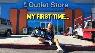 What $30 gets you at the Goodwill Outlet... a sh*t ton (thrift with me + haul)