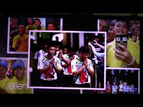 Xxx Mp4 October 15 2018 Thai Soccer Team Moo Pa In Ellen Show USA No 1 3gp Sex