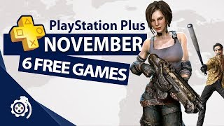 PlayStation Plus (PS+) November 2018