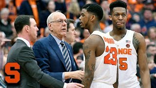Jim Boeheim Would Rather Have Tired Battle & Howard Than Someone Else