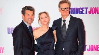 Bridget Jones's Baby World Premiere Red Carpet - Renée Zellweger, Patrick Dempsey, Colin Firth