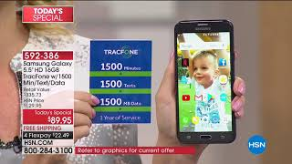 HSN | Electronic Connection featuring Samsung Tracfone 04.01.2018 - 06 AM