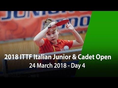 2018 Italian Junior & Cadet Open - Day 4