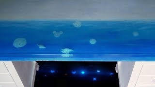 How to Make an Ocean Table using Epoxy Resin and Wood Casting
