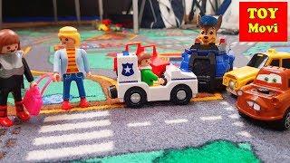 Autos Kinderfilm Feuerwehr Kinder Auto Spielzeug Film CARS Deutsch