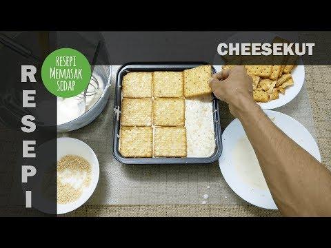 Resepi Cheesekut Original Kek Biskut Cream Cheese