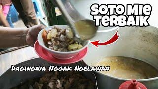 WOW CIAMIK !! SOTO MIE INI SUDAH 20 TAHUN BERJUALAN - INDONESIAN STREET FOOD