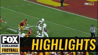 DeShon Elliot returns interception 38-yards for Texas touchdown | Highlights | FOX COLLEGE FOOTBALL