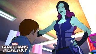 Gamora Strikes! | Marvel Guardians of the Galaxy | Disney XD
