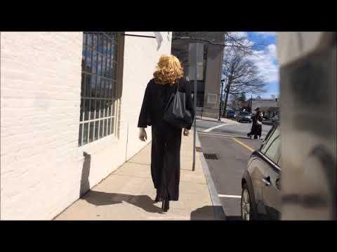 Xxx Mp4 040119 Crossdresser Walks With 6 1 2 Quot Metal Stiletto Heels Through The Town 3gp Sex