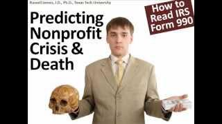 Predicting Nonprofit Death (IRS Form 990)