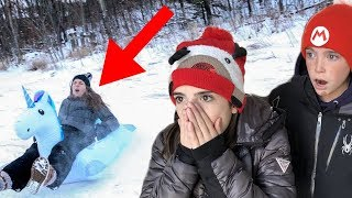 THIS WAS A BAD IDEA!! - Giant Unicorn Challenge