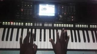 Seben on keyboard