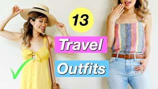 13 Travel Outfit Ideas! Nothing to Wear for Summer!