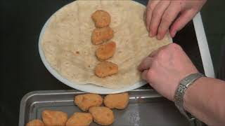 Piss Take Chicken Nuggets In Wraps