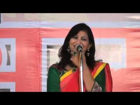 HASYA VYANG BY KAVAYITRI DR. PERANA THAKRE IN HASYA KAVI SAMMELAN BHOPAL