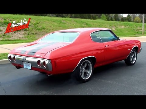 Wicked Sounding 1971 Chevelle 406 Roller Cam Chevy V8