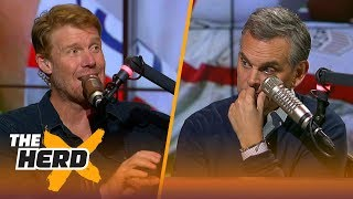 Alexi Lalas reveals his emotions after the USMNT failed to qualify for the World Cup | THE HERD