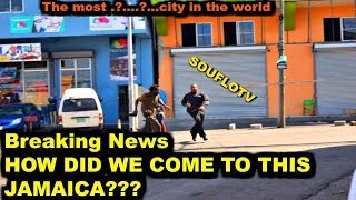 Montegobay Jamaica officially named Most Dangerous city in the World