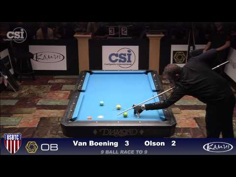 2015 USBTC 9 Ball Shane Van Boening vs Danny Olson Final