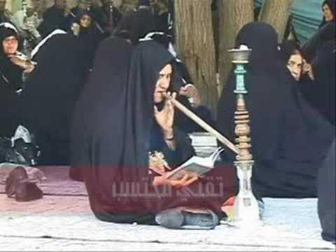 ايرانيات بداخل الحسينيه طقوس غريبة