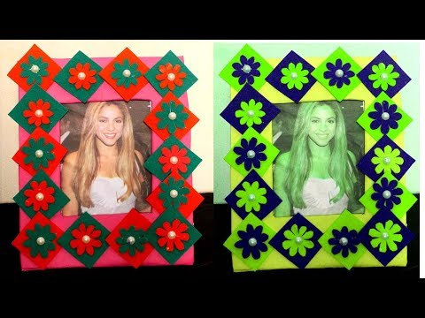 Xxx Mp4 DIY How To Make Photo Frame At Home With Waste Material Photo Frame Decoration Ideas 3gp Sex