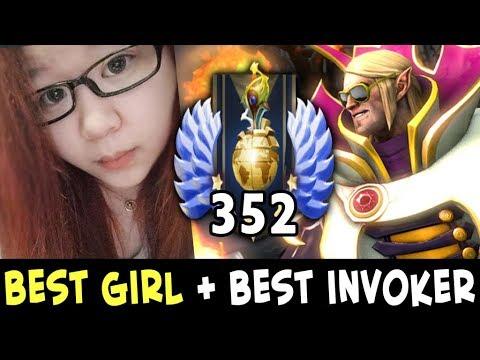 Xxx Mp4 Best GIRL In Dota Best Invoker — Sumiya And Axx Making Pro Team 3gp Sex