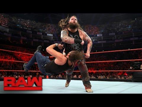 Dean Ambrose vs. Bray Wyatt: Raw, May 8, 2017