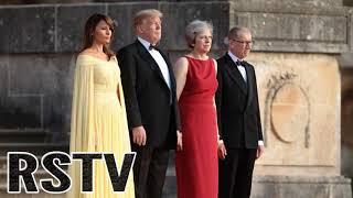 Trump Llega al Reino Unido con una Alta tensión en el Ambiente