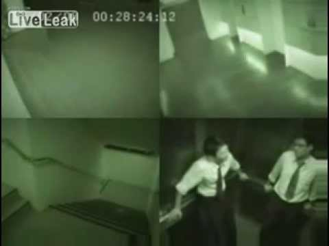 Fantasma en ascensor en china