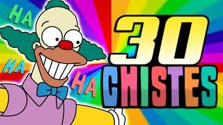 30 CHISTES GRACIOSOS Y CORTOS