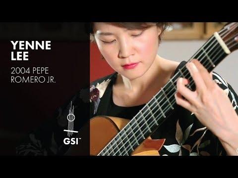 Autumn Leaves - Yenne Lee plays 2004 Pepe Romero Jr.