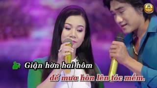 Karaoke Hai Đứa Giận Nhau   Dương Hồng Loan Ft  Dương Thanh Sang 1080px Vinhngo 1
