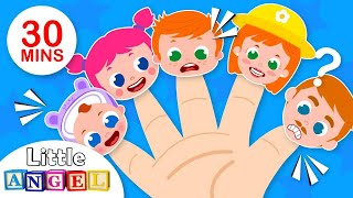 Daddy Finger and the Finger Family | No No Song + More Nursery Rhymes & Kids Songs by Little Angel