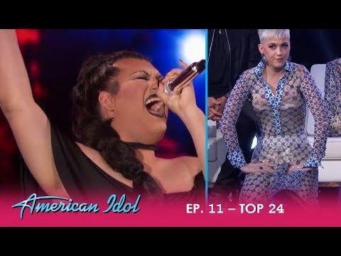 Ada Vox: Drag Queen Brings Katy Perry TO HER KNEES! | American Idol 2018