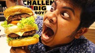 The Big Boy Burger Challenge At Jonah's At VR Mall