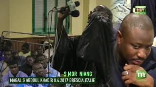 S MOR NIANG MAGAL S ABDOUL KHADIR 2017 BRESCIA ITALIE