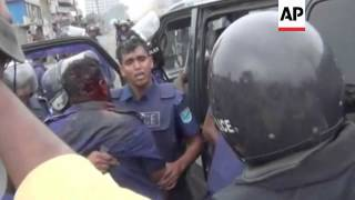 Bangladesh police, Islamic activists clash; 27 die