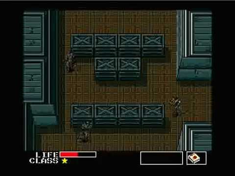 Metal Gear MSX Speed Run 35 54