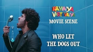 Who Let The Dogs Out - Ramaiya Vastavaiya Scene - Girish Kumar & Shruti Haasan