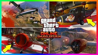 GTA ONLINE SMUGGLER'S RUN DLC NEW HIDDEN DETAILS/SECRET FEATURES - VEHICLES, NEW PROPERTIES & MORE!