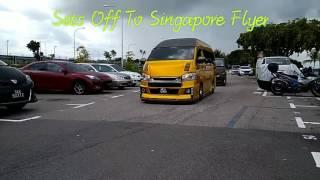 Hiace VIP BRHC JALAN-JALAN SINGAPORE