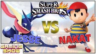 Super Smash Bros for Wii U Pt. 1 - Jesse vs. LoF Nakat