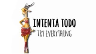 Shakira - Try Everything  English / Español .
