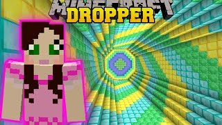 Minecraft: SECRET TREASURE DROPPER!! - THE ABSURD DROPPER - Custom Map [2]